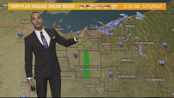 Final AM Weather Forecast for NE Ohio for Saturday December 22