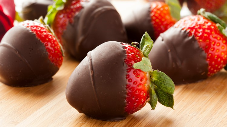 3 steps to making the perfect chocolate-covered strawberries