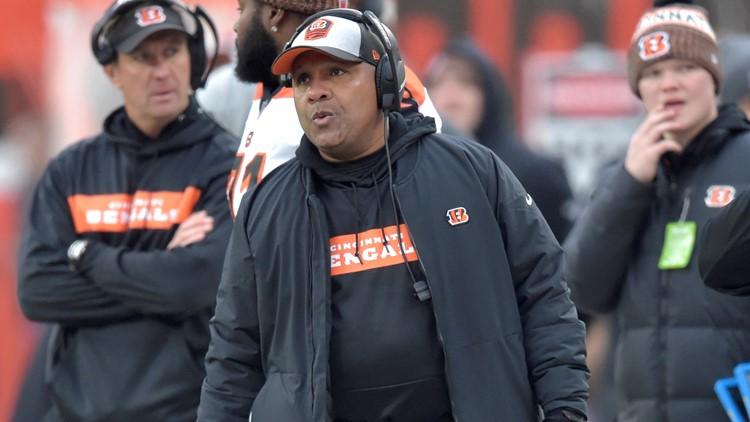 Hue Jackson Cincinnati Bengals-Cleveland Browns Football