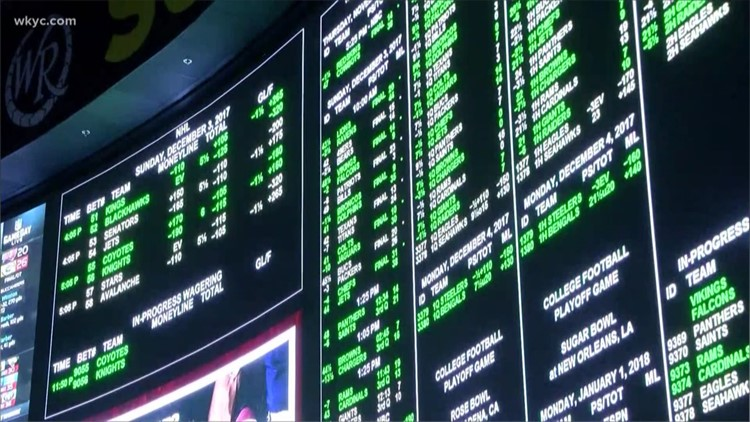 Ohio's professional sports teams want in on legalized sports betting