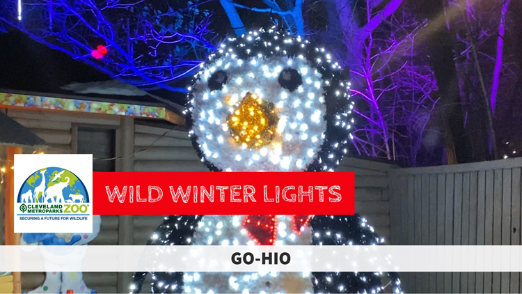 GO-HIO | Wild Winter Lights drive-through at Cleveland Metroparks Zoo