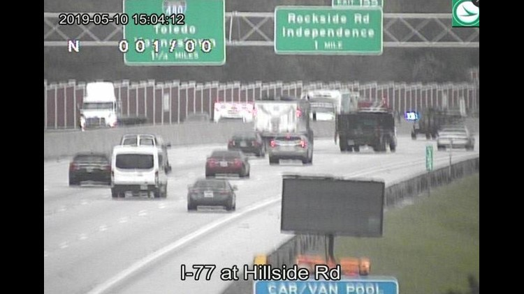 Crash causes delays on I-77 south in Independence   wkyc com