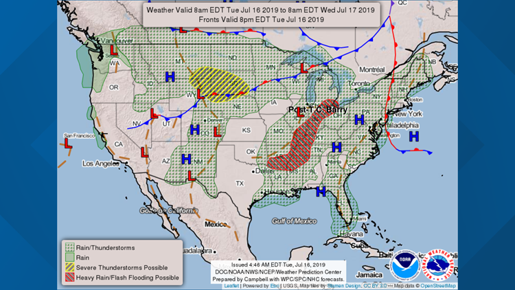 Barry prediction for July 17, 2019