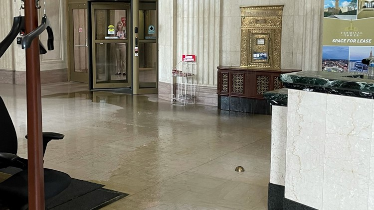Tower City Center reopens its doors following Monday's flooding