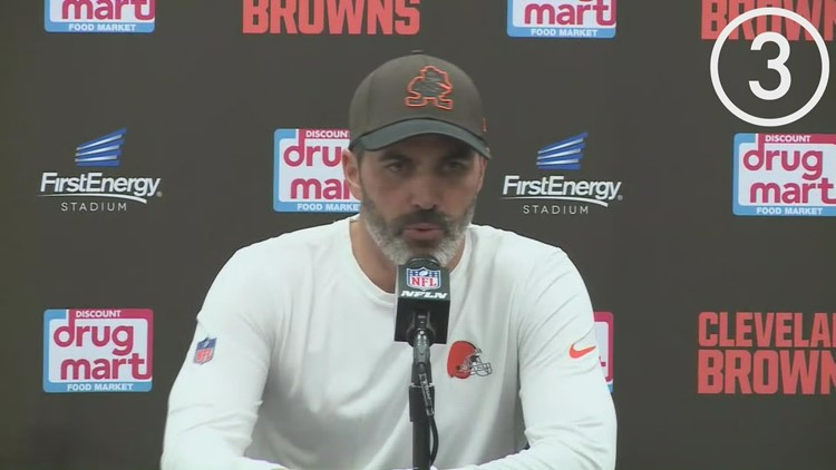 Inside the locker room: Hear from the Cleveland Browns after their big win over the Broncos