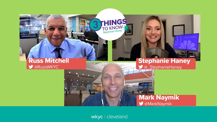 Examining Cleveland's political landscape with 3News' Russ Mitchell and Mark Naymik: 3 Things to Know with Stephanie Haney podcast