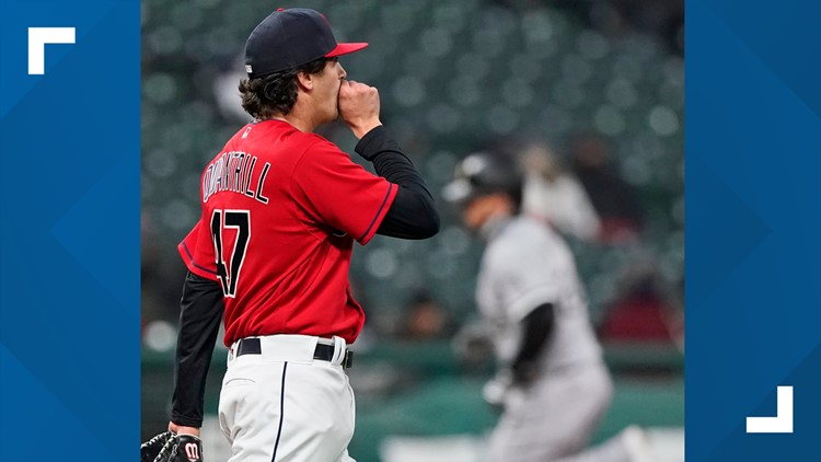 Cleveland Indians allow 4 home runs, lose to Chicago White Sox 8-5