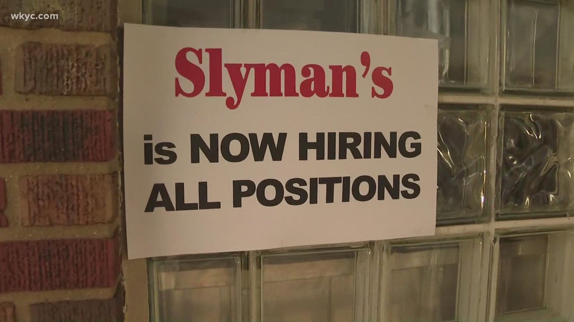 Nearly 200,000 jobs nationwide going unfilled due to labor shortage