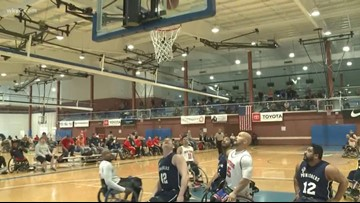 Sky is the limit for these wheelchair basketball athletes