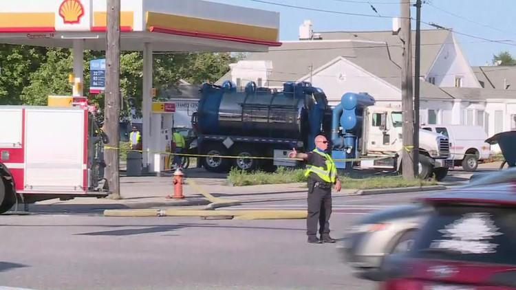 Gas leak reported near W. 150 Street and Lorain Avenue