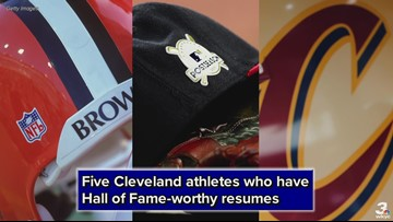 Five Cleveland athletes who have Hall of Fame-worthy resumes