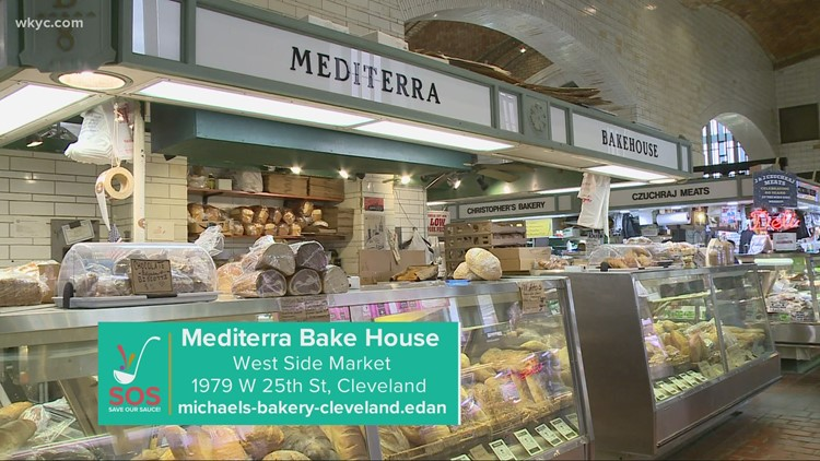 Mediterra Bake House at Cleveland's West Side Market: 'Save Our Sauce' campaign