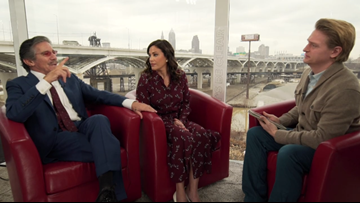 Geraldo, Erica Rivera talk Trump, love for Cleveland and a house divided