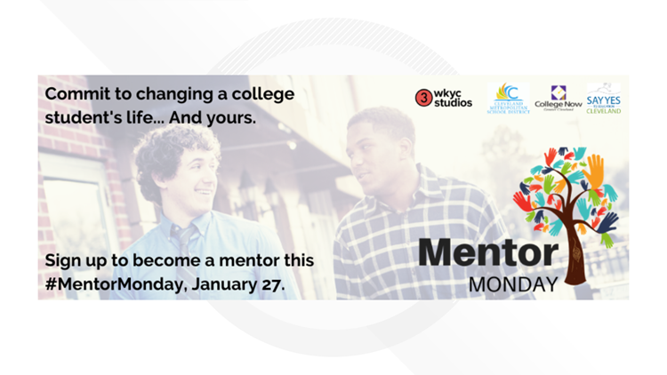 Mentor Monday is January 27: WKYC Studios to partner with College Now to recruit mentors for new college students