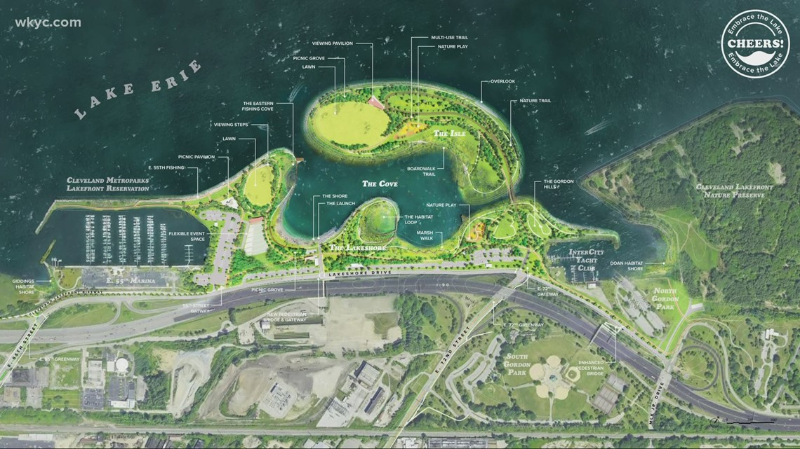 A new island on Cleveland's east side? The Metroparks wants to make it happen!