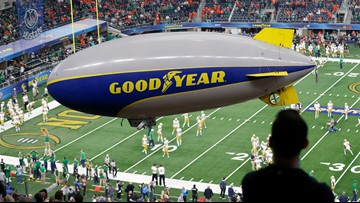Goodyear Blimp to be inducted into College Football Hall of Fame