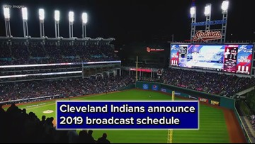 Cleveland Indians announce 2019 broadcast schedule; 4 games to air on WKYC