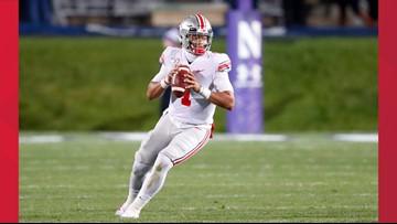 Justin Fields leads No. 4 Ohio State past Northwestern 52-3
