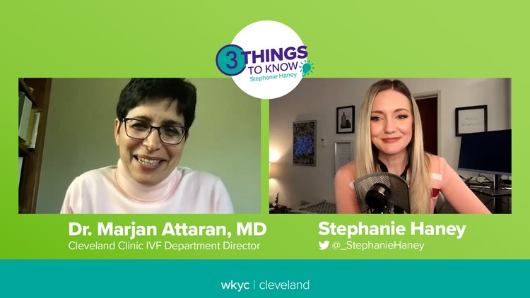 What to know about fertility testing before trying to freeze your eggs with Cleveland Clinic IVF Director Dr. Marjan Attaran: 3 Things to Know
