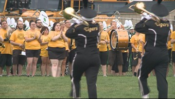 Cuyahoga Falls alumni band marks 50th anniversary with 'golden' performance