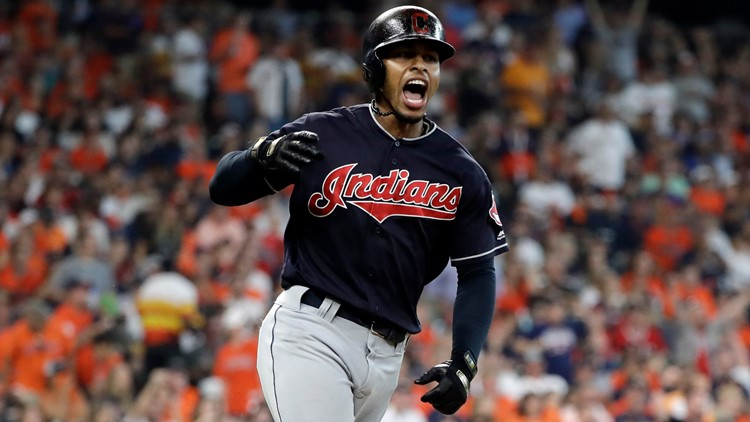 b801173a23fc 'I'm gonna hit 80 home runs': Cleveland Indians' SS Francisco Lindor  featured in MLB Opening Day commercial