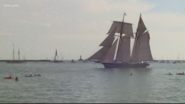 Tall ships will arrive in Cleveland in just one day