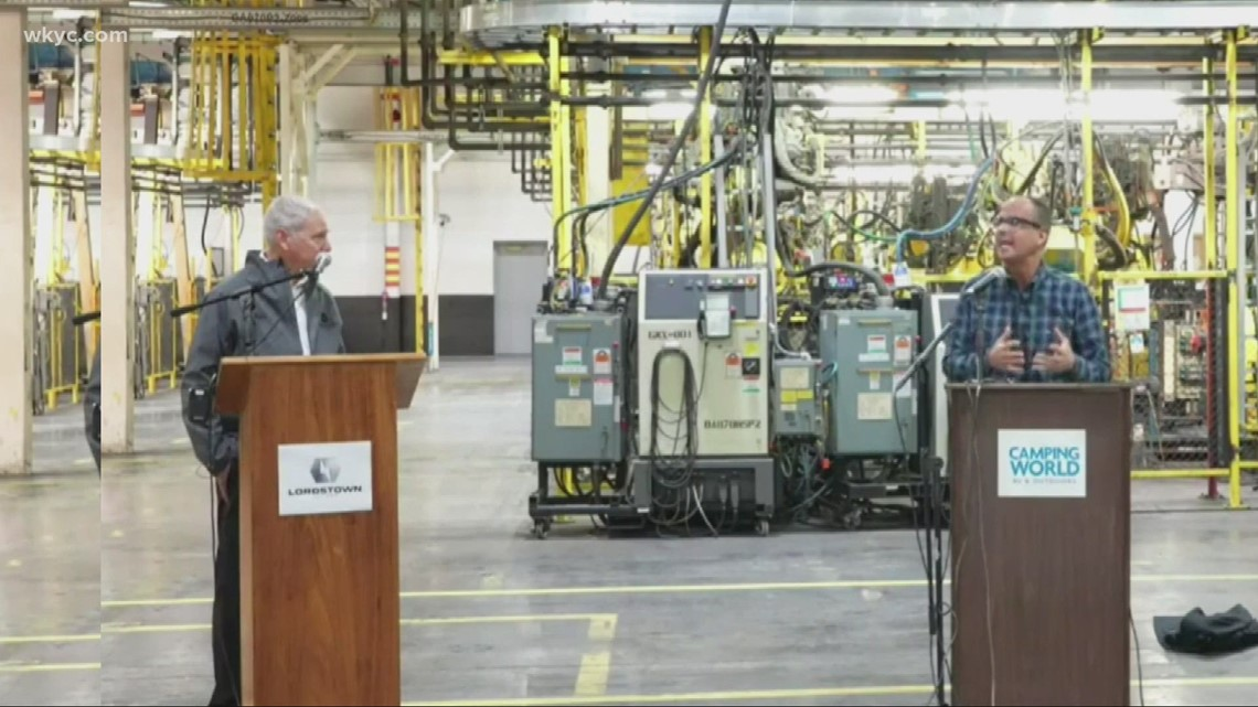 Lordstown Motors, Camping World partner to