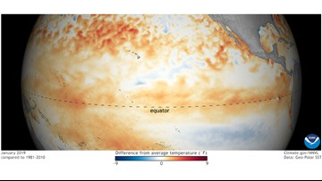 El Nino is back but it's late, weak and probably no big deal