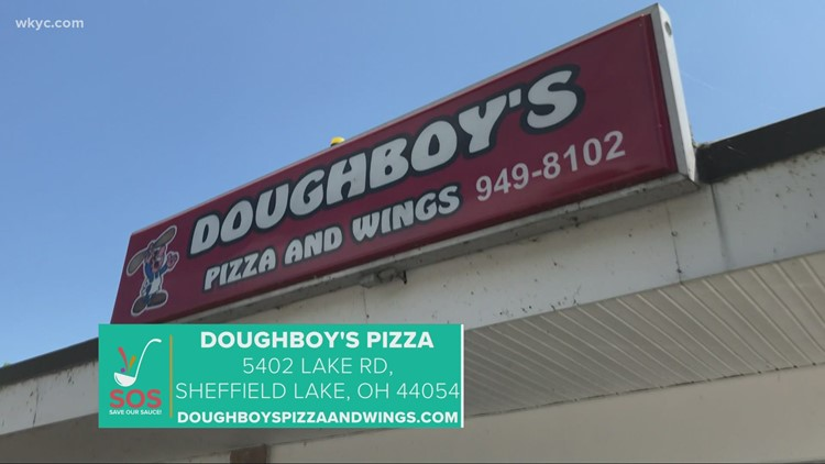 Doughboy's Pizza in Sheffield Lake