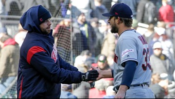 Indians escape bases-loaded jam in 9th, hold off Minnesota Twins 2-1