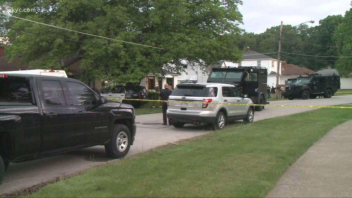 Parma standoff ends with suspect dead inside home after police say he opened fire at officers