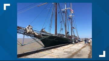 Tall ship 'Denis Sullivan' returns to Cleveland from Project YESS tour of Great Lakes