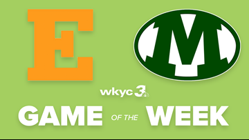 Euclid vs Medina to be featured as WKYC.com's next High School Football Game of the Week