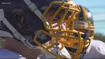 Friday Night Heroes: Kirtland football player overcomes disabilities to inspire teammates, family