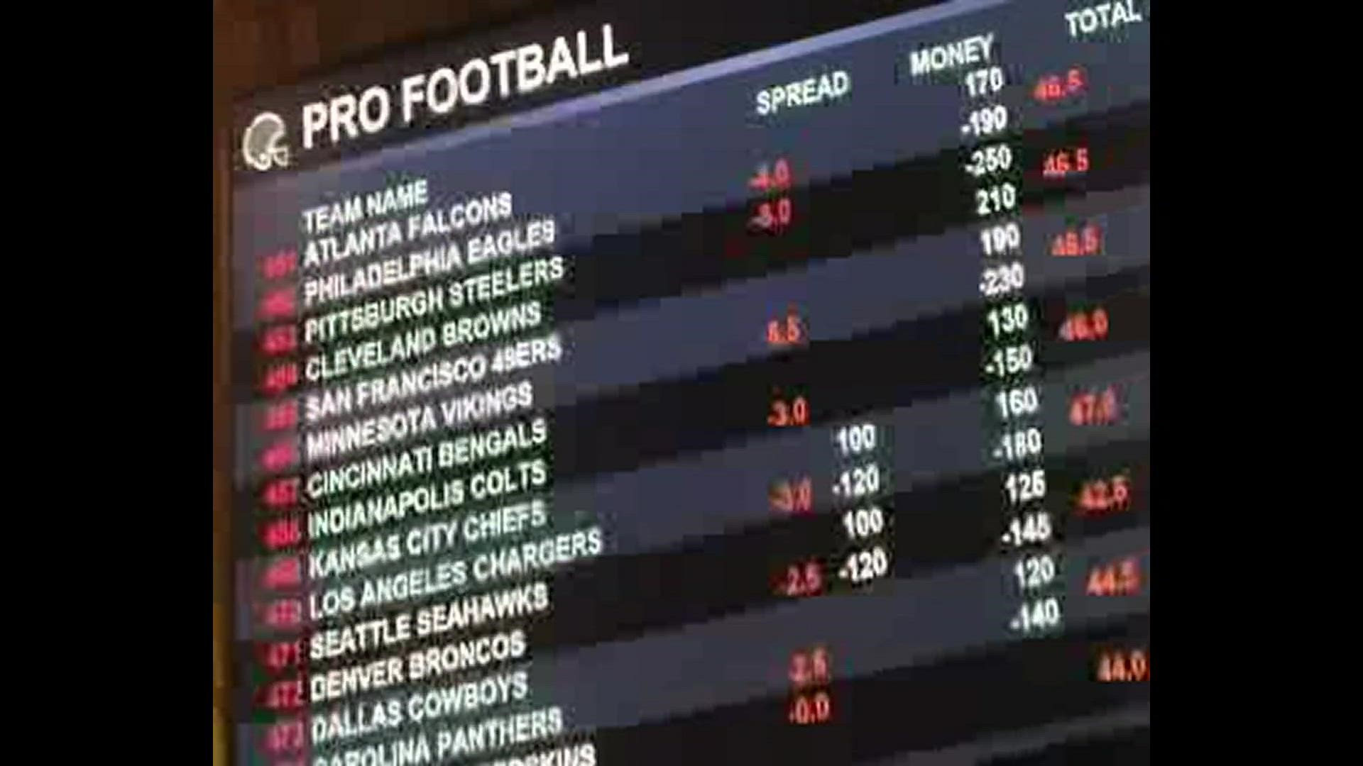 Vegas betting trends nfl week 5 dog race betting