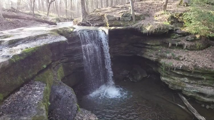 Exploring Dundee Falls in Tuscarawas County: GO-HIO adventures
