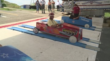 Former riders make trip back in time at Derby Downs' senior fair in Akron