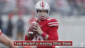Ohio State QB Tate Martell announces transfer to Miami