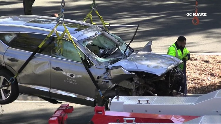 Excessive speed caused Tiger Woods' SUV crash in February