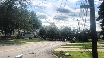 PHOTOS | Cleveland Heights, Lyndhurst slammed by severe weather Friday: More than 4,000 still without power days later in Cuyahoga County