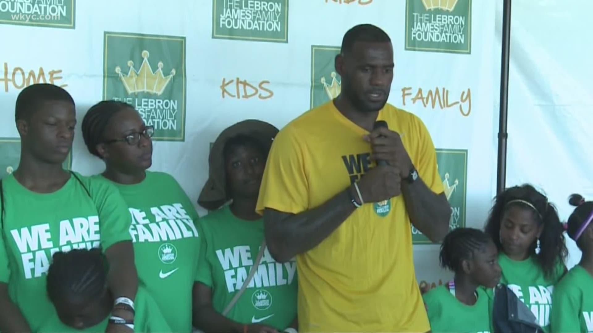 LeBron James Family Foundation: LeBron