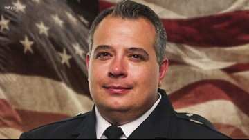 Memorial service held to remember Officer Mathew Mazany on anniversary of his death