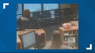 Officials seek help identifying armed bank robbery suspect in Wellington