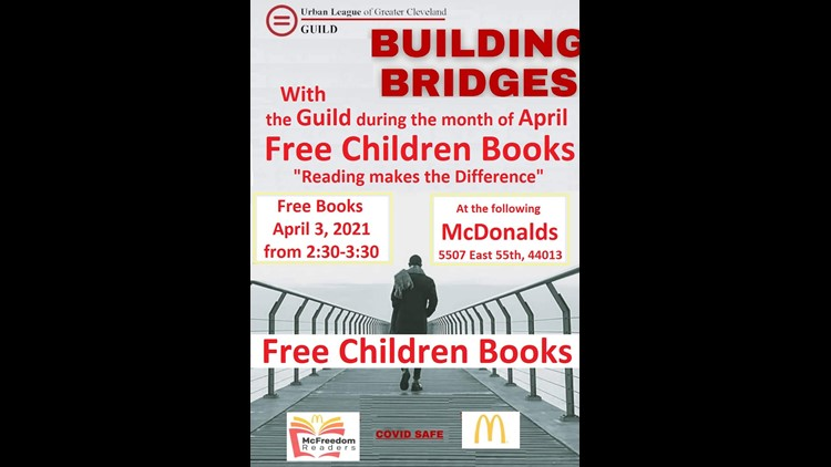 Urban League Guild teams up with Cleveland McDonalds owners for month-long book giveaway