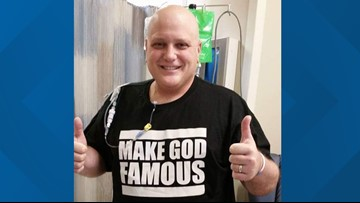 Youngstown man shares story of fight with 'incurable' breast cancer
