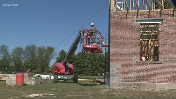 Historic Summit County school is making a comeback after arson fire