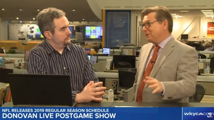 The Cleveland Browns schedule is out, now the battle is with expectations: The Donovan Live Postgame Show