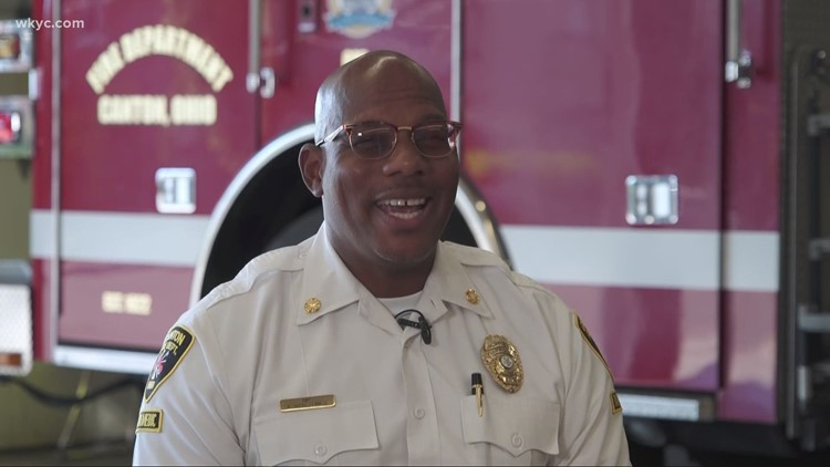 How Canton's new fire chief is making history: Game Changers