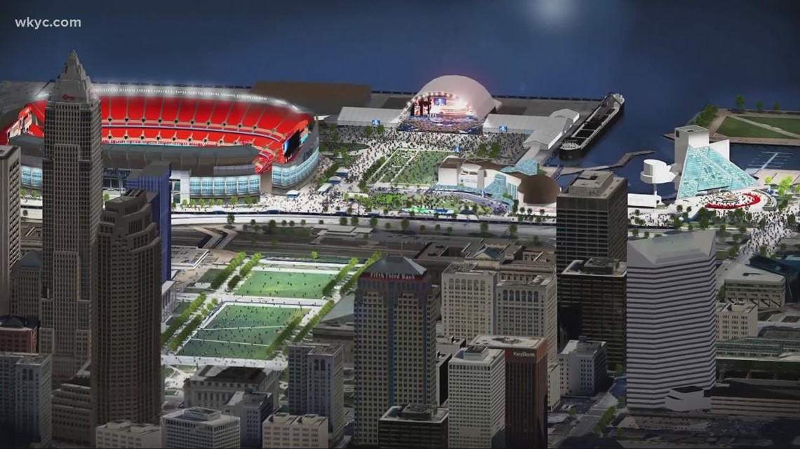 Where the 2021 NFL Draft in Cleveland will have the events