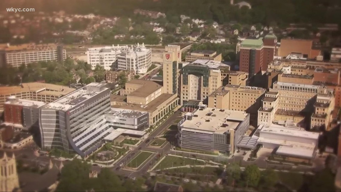 What is the status of Northeast Ohio hospitals as COVID-19 cases climb?